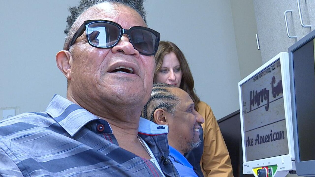 Helping veterans with low vision