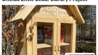 Little Cedar Libraries aim to offer representation for Native Americans
