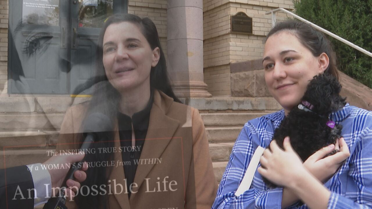 Mother-daughter duo stop in Colorado Springs as part of nationwide tour to end mental health stigma