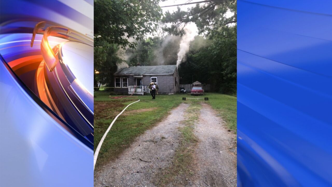 One person displaced after Suffolk house fire