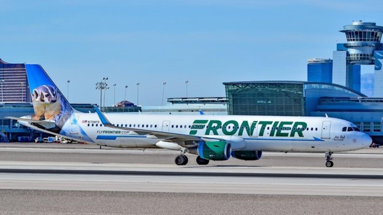 Frontier adds nonstop flight to San Diego