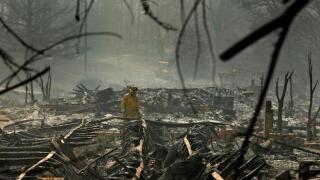 Sheriff: Wildfire death toll rises to 79