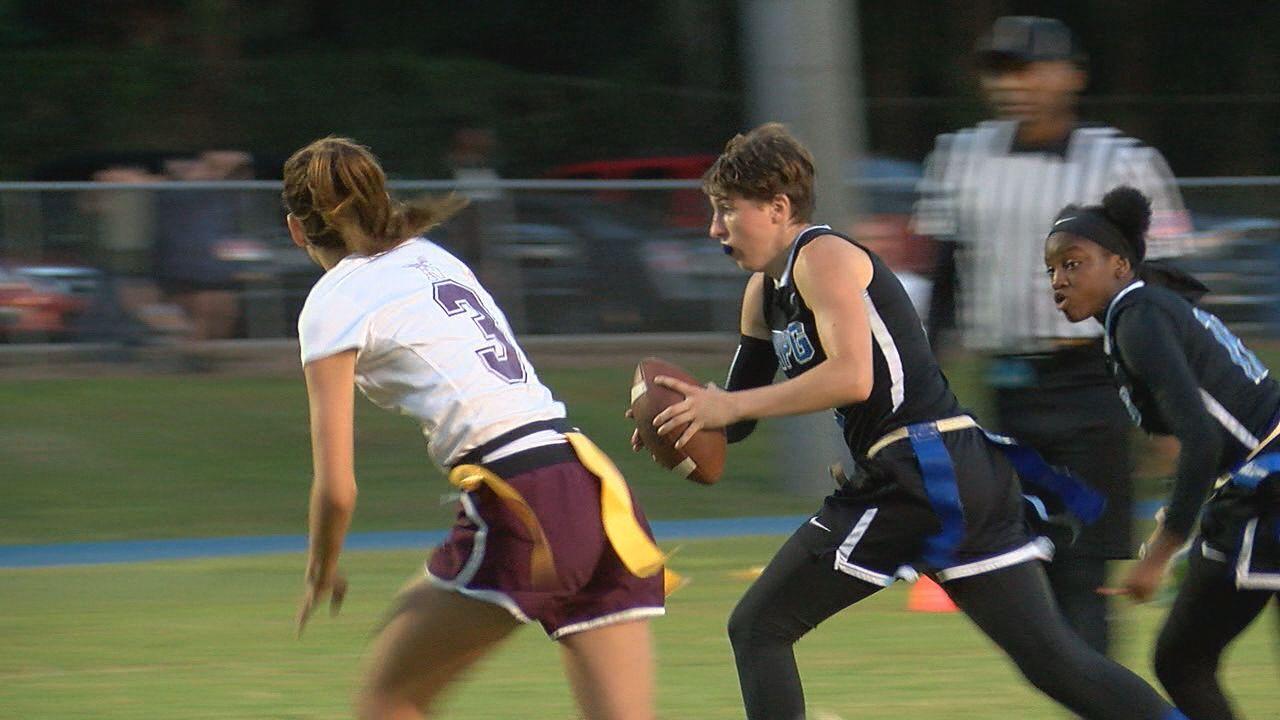 Godby flag football handles Niceville in Regional Semifinals Thursday