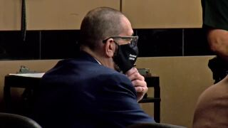 J.B. Rind in court for bond hearing, Dec. 9, 2020