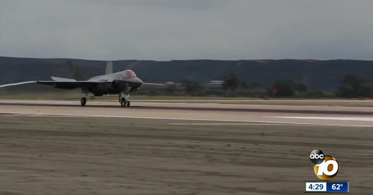 F-35C arrives in Miramar as first in Department of Defense