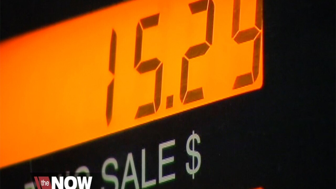 National gas prices starting to spike