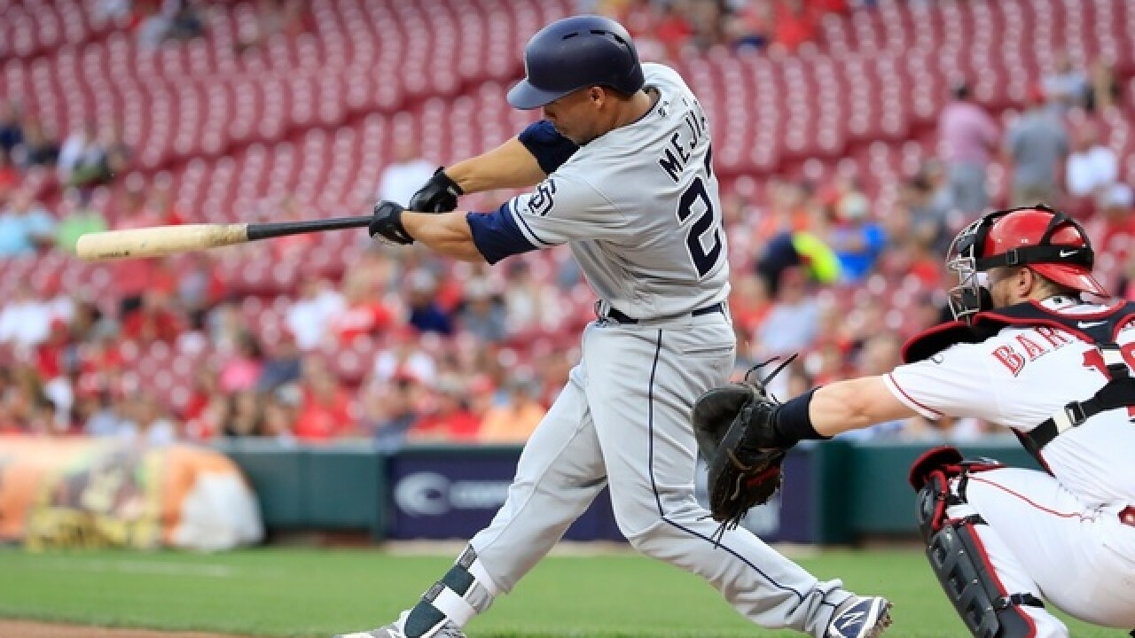Francisco Mejia homers twice, Padres beat Reds 6-2