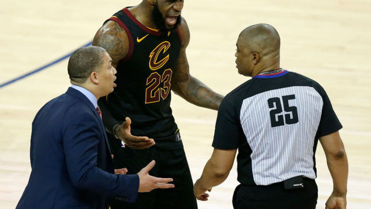 2a3866b23 NBA referees will engage with fans on Twitter during Game 3 tonight