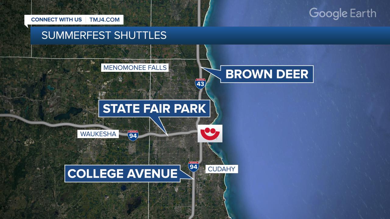 MENDEZ Summerfest Shuttles MAP FS.png