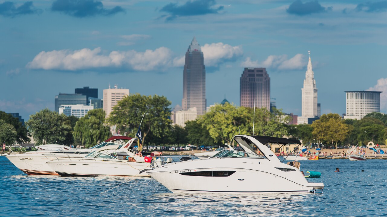 Clevelanders out boating