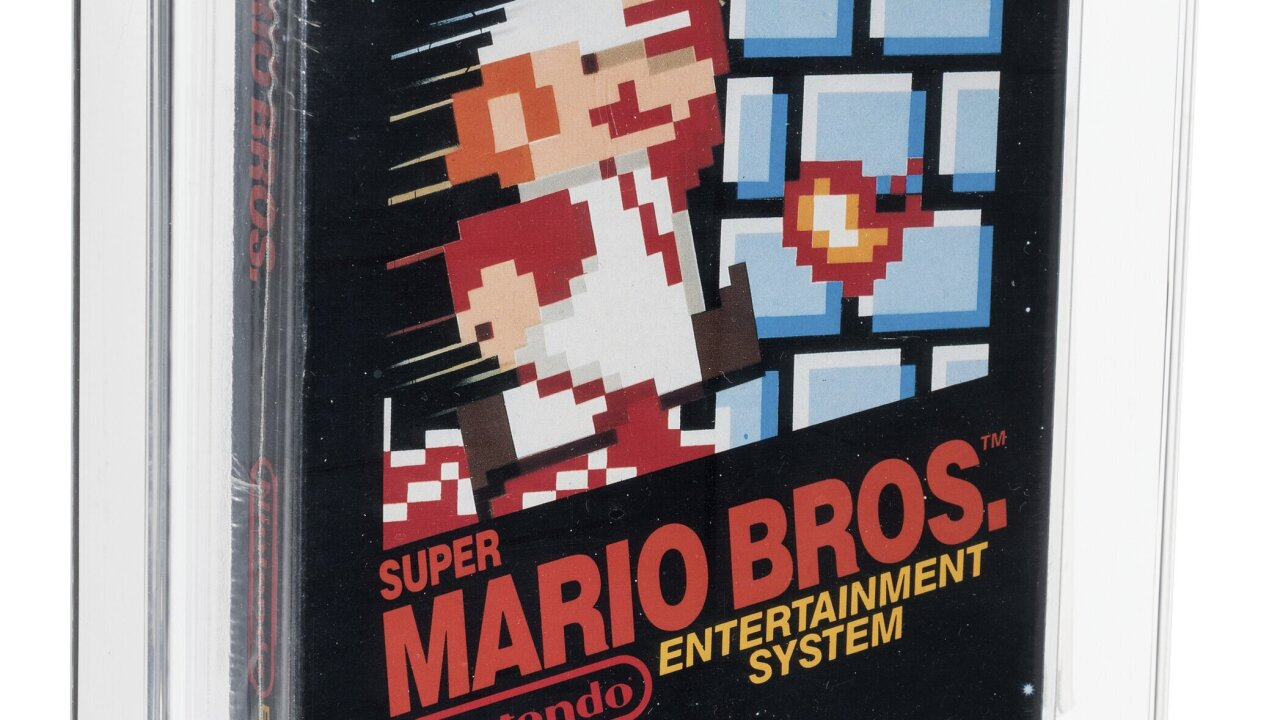 Super Mario Bros Auction