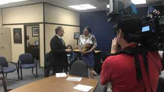 Counselor honored for helping pushing students to succeed
