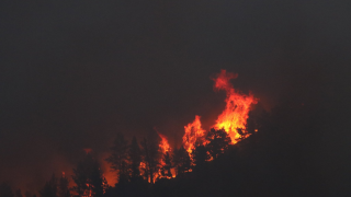 Mountain View fire update: Evacuation lifted; cause was lightning