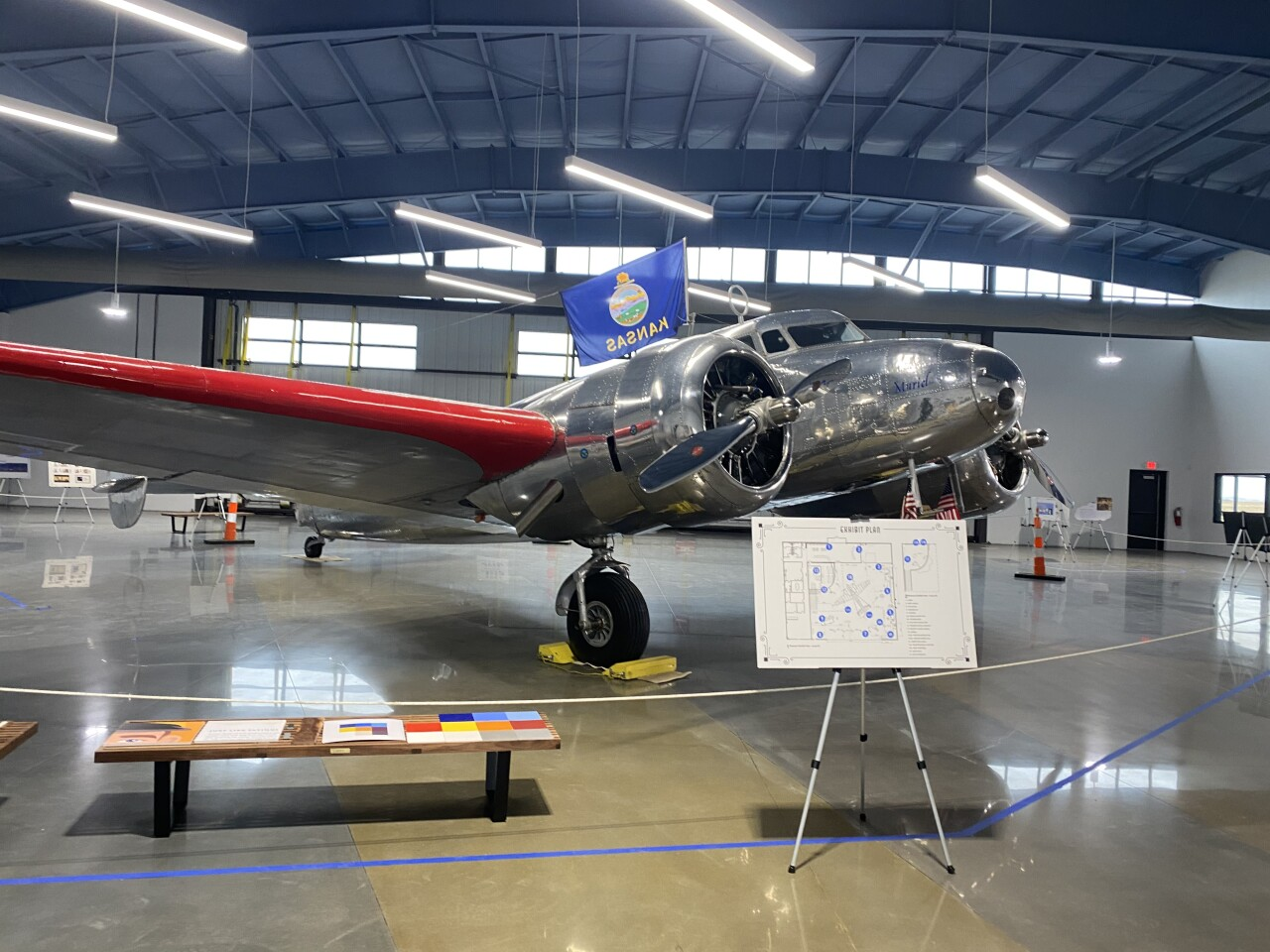 The exact plane model Earhart disappeared in in 1937.