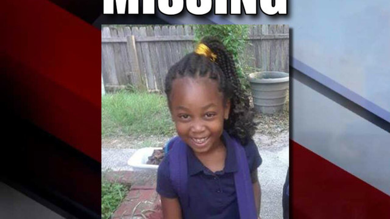 Police search for missing 6-year-old girl