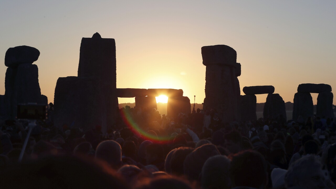 Summer solstice at Stonehenge to be live-streamed this year due to coronavirus pandemic