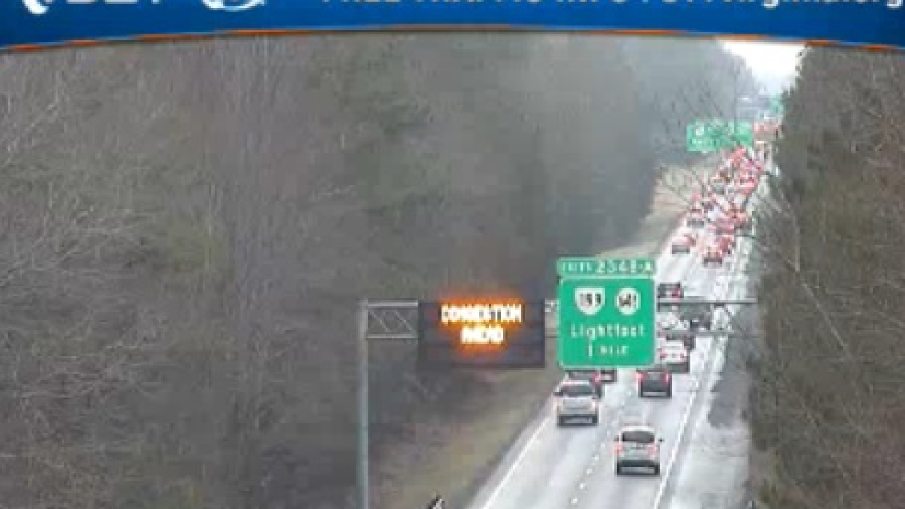 Furniture and bacon spill leads to 9 hour closure on I-64