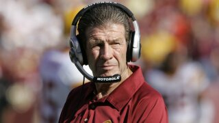 Washington Redskins assistant head coach-offensive Joe Bugel