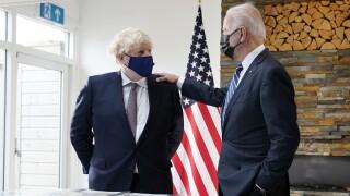 Joe Biden,Boris Johnson