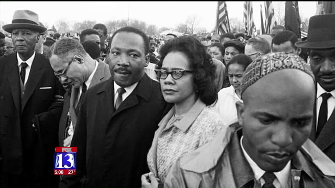 Utahns honor Dr. King's legacy ofservice