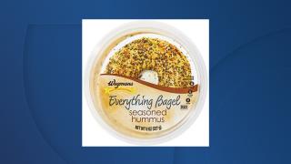 Wegmans everything bagel seasoned hummus