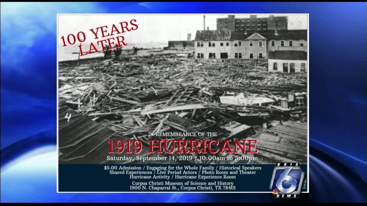 1919 Hurricane exhibit