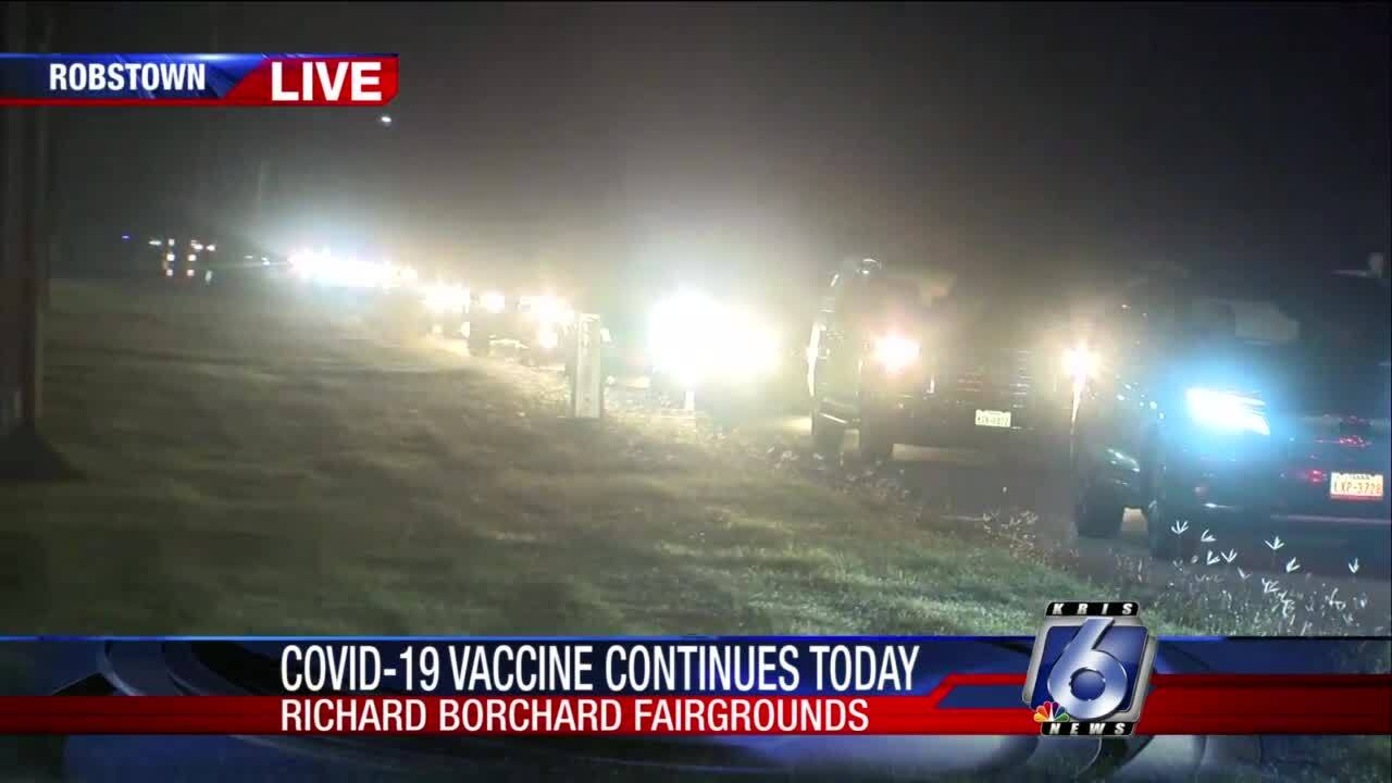 Long lines already are appearing at the Richard Borchard Fairgrounds