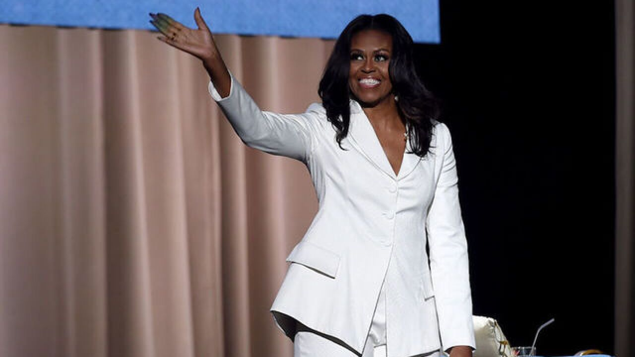 Michelle Obama's new book has biggest first-week sales of 2018, Barnes & Noble says