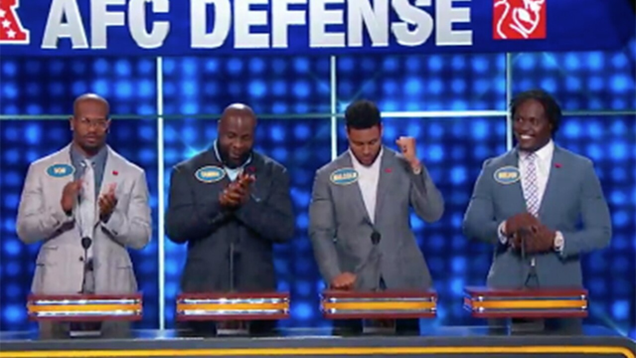 Von Miller's 'Celebrity Family Feud' appearance to air July 3