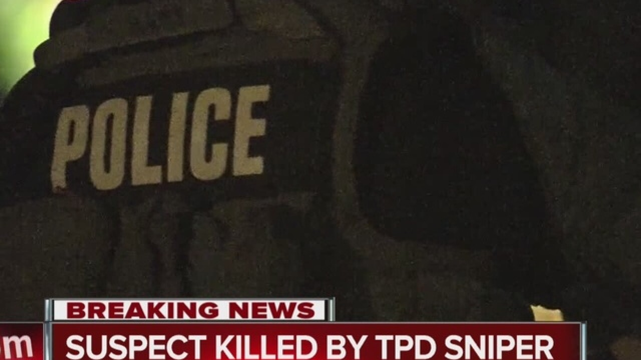 Police use lethal force to end hostage situation