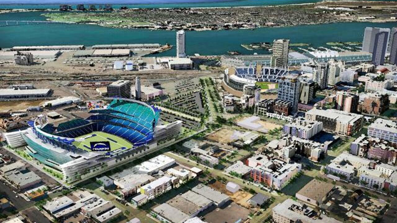 Chargers focusing efforts on downtown stadium