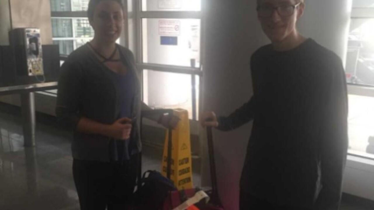 Lake Geneva teen stuck in Paris returns home