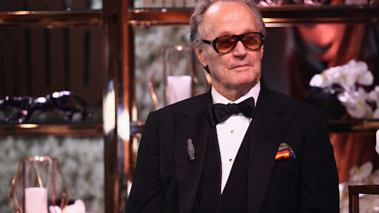 Peter Fonda: Secret Service notified after actor's obscene tweet about Barron Trump