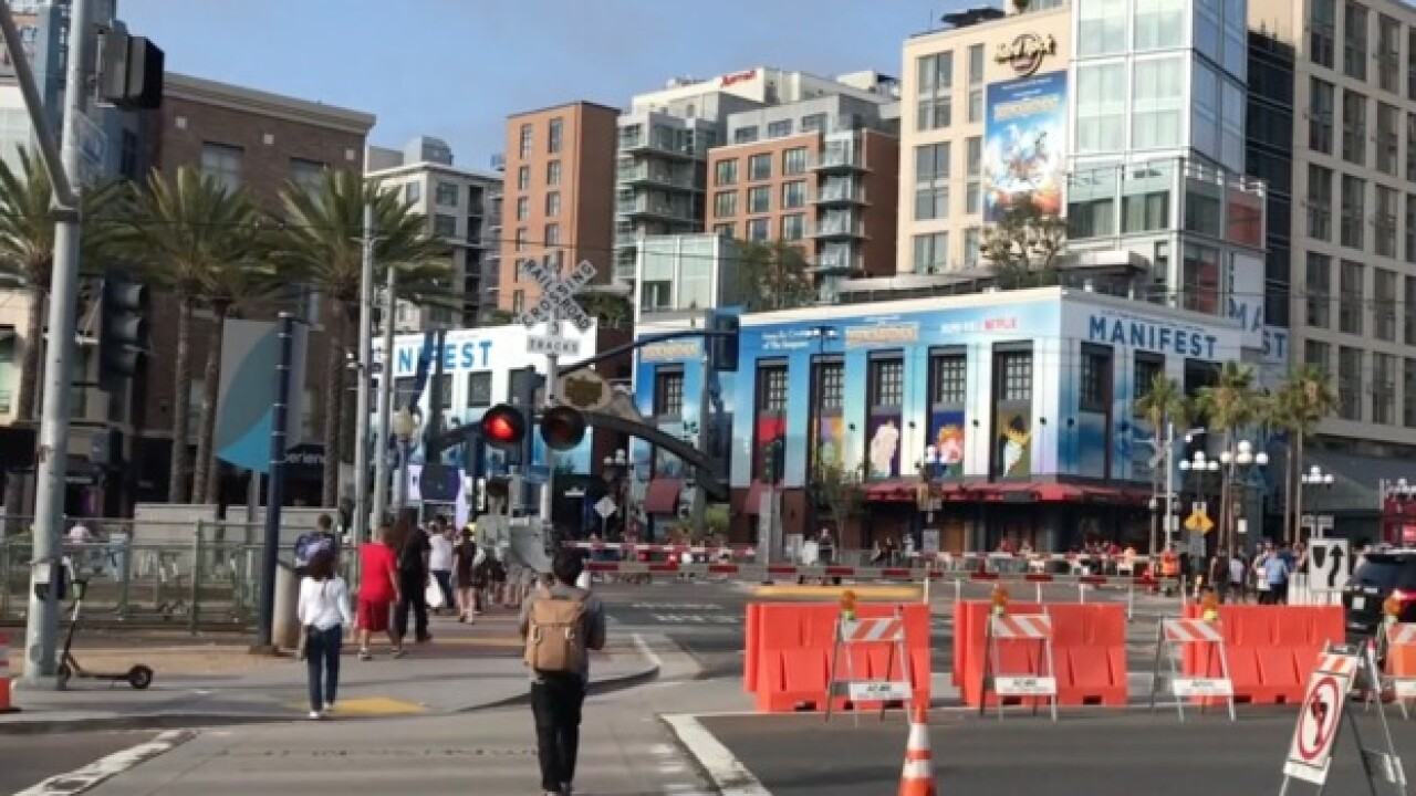 A Comic-Con without Marvel, HBO gives others a chance to pop