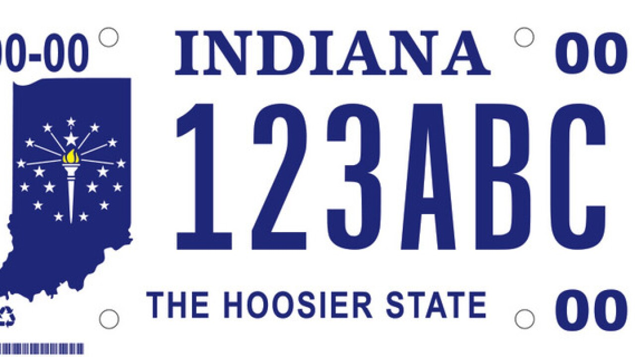 Help pick Indiana's new license plate design