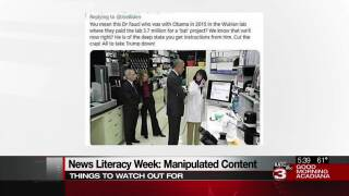 News Literacy Week manipulated content