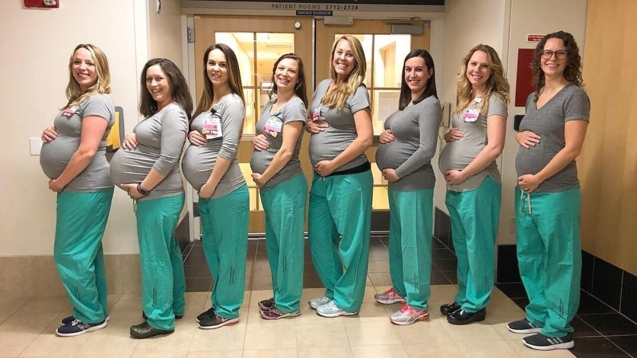 CORRECTION Pregnant Nurses