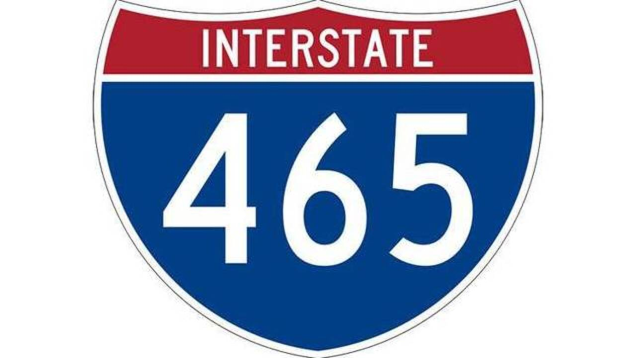 Road work to shut down sections of I-465 until early October