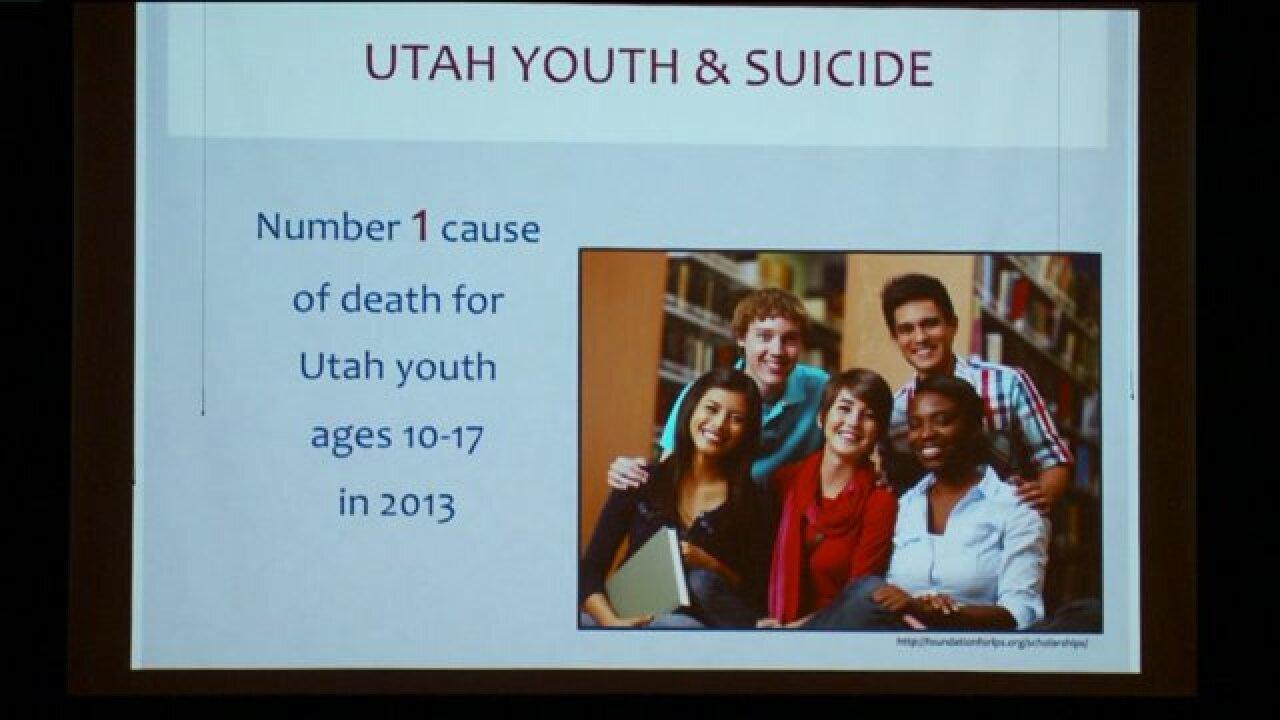 Recent suicides in Alpine School District spark discussion with parents, schoolofficials