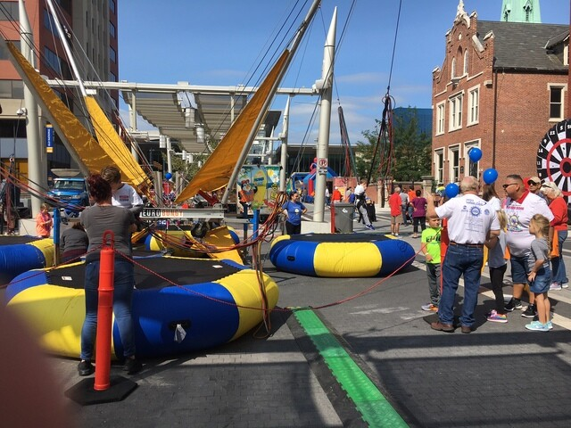 PHOTOS: Labor Fest kicks off Labor Day weekend in downtown Indianapolis