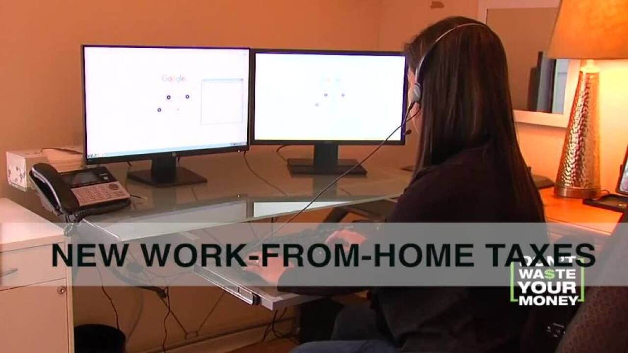 Working from home? Watch out, the tax man might be coming