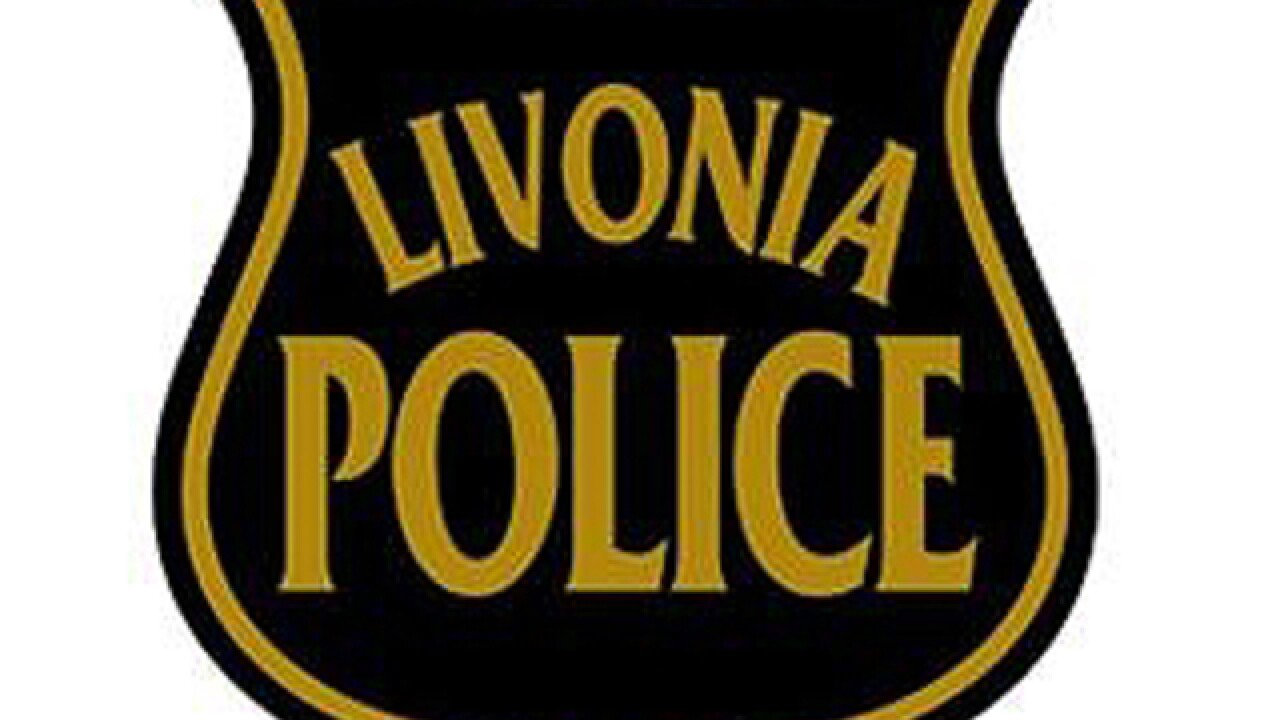Oil spilled on road after crash in Livonia