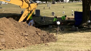 Day four of the second test excavation in the 1921 Tulsa Race Massacre Graves Investigation