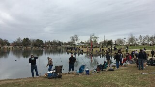 Bakersfield Fire's 7th Annual Trout Fishing Derby at Riverwalk Park