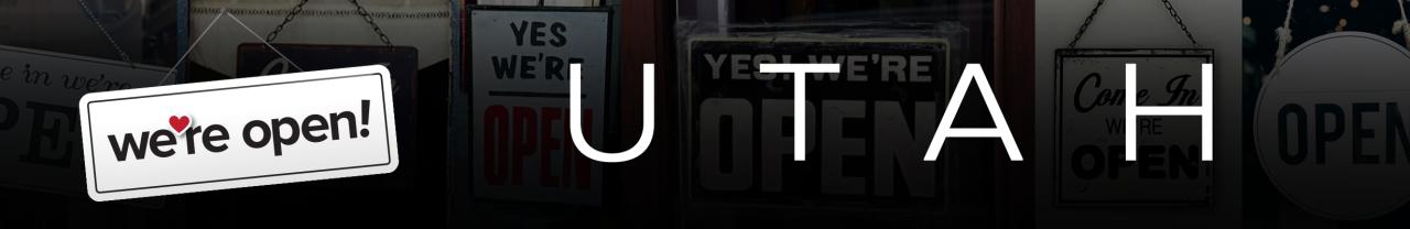 We're-Open-Utah