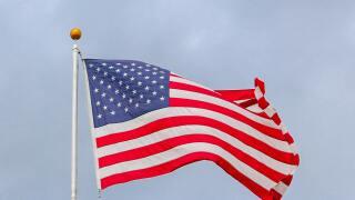 veterans american flag