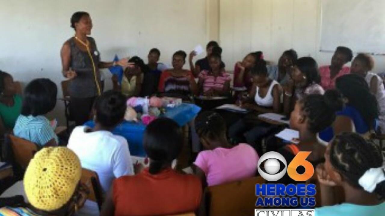 Richmond volunteers spend vacation teaching life changing skills inHaiti