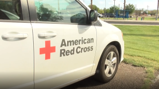 American Red Cross Vehicle