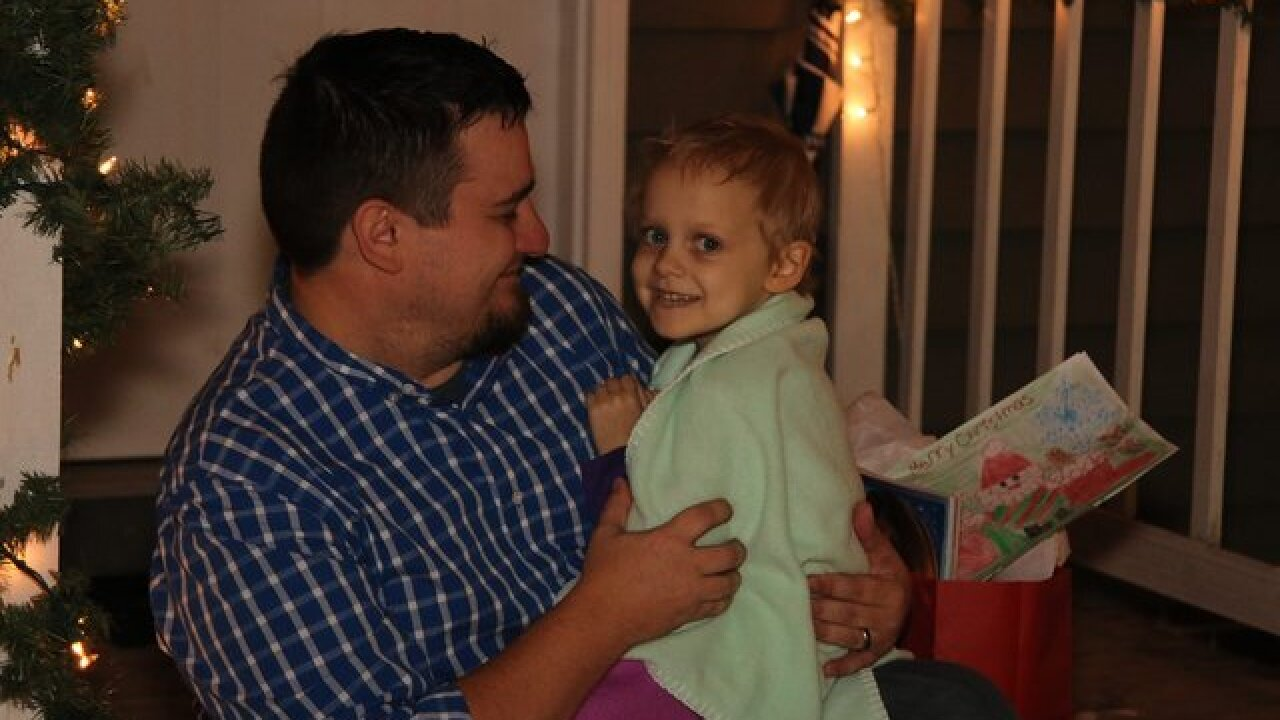 Terminally Ill 4-Year-Old Gets Early Christmas