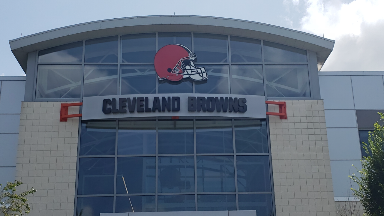 Browns training facilities Berea